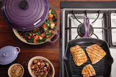 Square Grill Pan and Braiser | Le Creuset