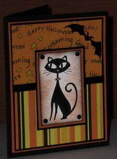 BOO! Cat by card crazy - Cards and Paper Crafts at Splitcoaststampers