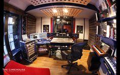 studio recording bedroom fisheye setup wallpapers cool control studios desktop production decor acoustic background modern living purple unique dj effect