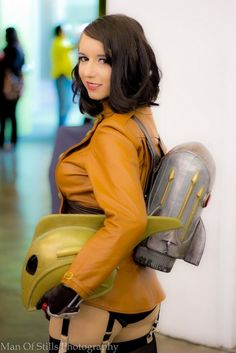 Rocketeer--I am literally watching the episode of Heroes of Cosplay where Riki competes in this costume right now. :D