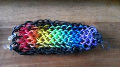 Rainbow dragon scale