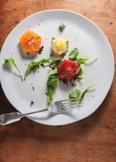 citrus salad w/ rosemary + olives • the tart tart