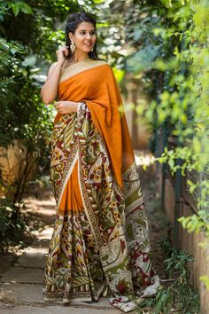 Buy Designer Blouses online, Custom Design Blouses, Ready Made Blouses, Saree Blouse patterns at our online shop House of Blouse from India. Bollywood Saree, Bengali Saree, Indian Bollywood, Indian Sarees, Designer Blouses Online, House Of Blouse, Cotton Sarees Online, Kalamkari Saree, Designer Silk Sarees