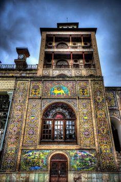 Mystery - Golestan Palace, UNESCO heritage Site.