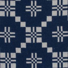 st davids cross indigo front - choose by colour - melin tregwynt - woven in wales