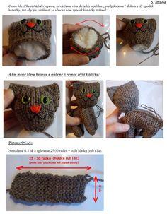 kočka | Návody na háčkované hračky Origami, Crochet Hats, Gifts, Amigurumi, Knitting Hats, Presents, Origami Paper, Gifs, Origami Art