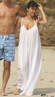 9 Seed Tulum Dress in White as seen on Kourtney Kardashian
