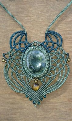 Moon Dreams macrame pendant                                                                                                                                                      More