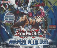 Konami Yu-Gi-Oh Judgement of the Light 1st Edition Booster Box | Steel City Collectibles