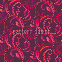 Summer Plants by Martina Stadler available for download as a vector file on patterndesigns.com