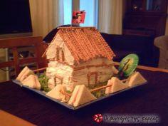 Το σπίτι των ονείρων μου - FOVERO!!!!! Recipe Images, Love Pet, No Bake Desserts, Food Art, Kids Meals, Gingerbread, Baking, House, Kid Foods