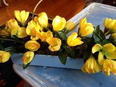 Floral Arrangement, Spring Decor, Easter Arrangement