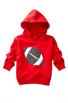 bdab698dc98723 Football Hoodie. Cute Outfits For Kids, Cute Kids, Baby Sewing, Casual Chic