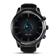 Lemfo LEM5 3G Android 5.1 GPS Heart Rate Monitor Bluetooth Smart Watch Sale - Banggood.com