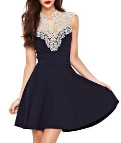 Cheap dress bottom, Buy Quality dresses girl directly from China dress frock Suppliers:  summer casual dress tropical  vestidos femininos 2015 New Women Lace dresses vestido size plus WQW845            &