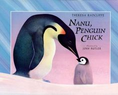"In the icy world of Antarctica, Nanu, a penguin chick, is left alone while her parents hunt for food. But it's the baby penguin chick's first winter and she is unaware of the many dangers that face her. This story of survival in Antarctica is dramatically told by Theresa Radcliffe and handsomely illustrated by top wildlife artist John Butler, who has created ""another visual feast"" (School Library Journal for Bashi, Elephant Baby)."