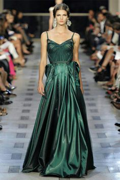 Esmerald Green Gown