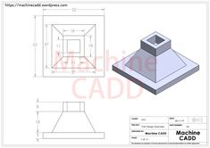 Cad Drawing, Line Drawing, Drawing Tips, Autocad Isometric Drawing, Fusion 360, Youtube Drawing, Cad Programs, 360 Design, 3d Cad Models