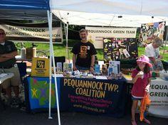 Bob Friedman manning the PTC booth at the Street Fair!