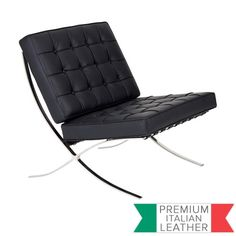 Mies van der Rohe Premium Replica Barcelona Chair by Milan Direct. Get it now or find more Living Room Chairs at Temple & Webster. Chair And Ottoman, Armchair, Sofa Bed Set, Modern Recliner, Purple Chair, Style Lounge, Leather Lounge, Barcelona Chair, Occasional Chairs
