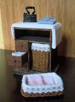 Miniaturas de Carmen: Mueble para la plancha