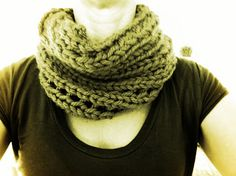 Live, Love, Laugh . . . and blog?: Free and Easy Chunky Cowl Pattern