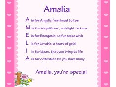 Acrostic Name Poems For Girls: Acrostic Name Poems For Girls -Letter A