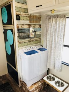 New camper remodel travel trailers rv interior Ideas Camper Living, Diy Camper Remodel, Rv Living, Remodel