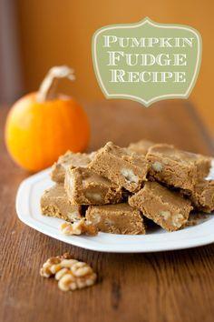 This pumpkin fudge i