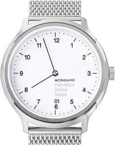 Mondaine Watch Helvetica No1 Regular 40 #bezel-fixed #bracelet-strap-steel #brand-mondaine #case-depth-mm #case-material-steel #case-width-40mm #classic #date-yes #delivery-timescale-4-7-days #dial-colour-white #gender-mens #movement-quartz-battery #official-stockist-for-mondaine-watches #packaging-mondaine-watch-packaging #style-dress #subcat-helvetica #supplier-model-no-mh1-r2210-sm #warranty-mondaine-official-2-year-guarantee #water-resistant-30m