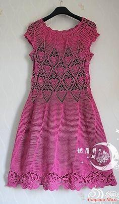 . Воплощение мечты. Розовое ажурное платье.