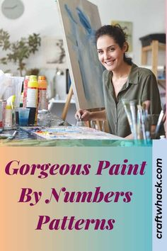 Paint by numbers is an activity that has been around for a very long time. Craftwhack wants to show you how fun and awesome an activity this is to share with your children. Invite your friends and your children's friends to join you to reclaim this absolutely enjoyable returning old-time hobby. They come in a large assortment of kits. So easy to put together and start painting. Enjoy the gorgeous colors, enjoy the process, and enjoy the results. Read more... #paint #paintnumbers #colorfun