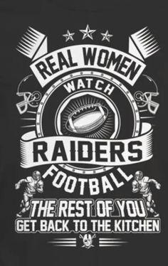 Real women watch Raiders football