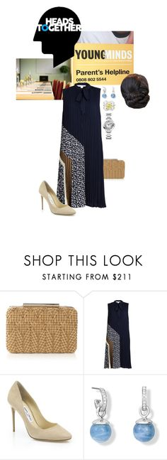 """""""Untitled #2125"""" by duchessq ❤ liked on Polyvore featuring L.K.Bennett, Diane Von Furstenberg, Jimmy Choo and Cartier"""