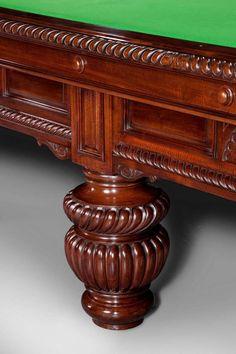 Antique Billiard / Snooker Table image 4