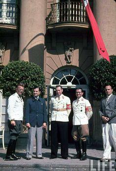 Arthur Seyess-Inquart, ? ?, Albert Forster, Phillip Bouhler, Hans Frank.