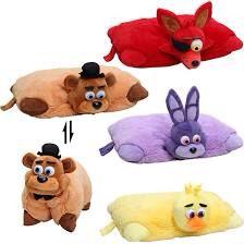 FNAF pillow pets