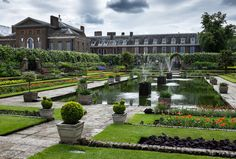 Kensington Palace, London, England. The Kensington Palace is the home of Prince William and Prince Harry