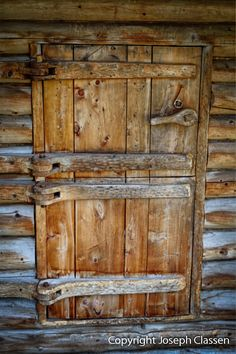 A close up of the incredible double dutch door and locking latch of the Dick Proenneke cabin. Photography by Joseph Classen. Frosted Glass Interior Doors, Interior Doors For Sale, Interior Barn Doors, Wooden Hinges, Wooden Doors, Double Front Entry Doors, Door Entry, Front Doors, White Internal Doors