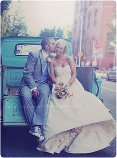 wedding day picture :) love the style, not in my world but for some couple this would be cute