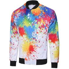 Zip Up Painting Jacket