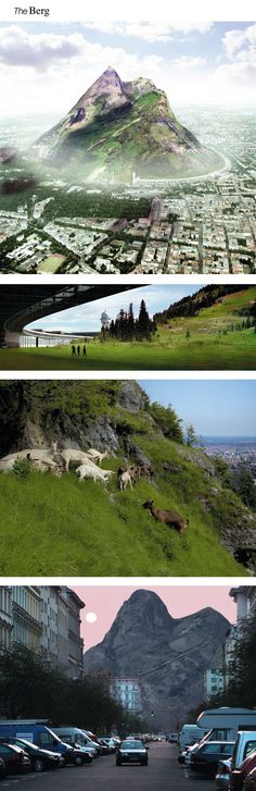 Berg Mountain Proposal near Tempelhofer Park in Berlin http://www.archdaily.com/40755/the-berg-the-biggest-artificial-mountain-in-the-world/