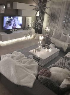 48 Most Popular Living Room Design Ideas for 2019 Images Part living room decor; living room designs room designs modern 48 Most Popular Living Room Design Ideas for 2019 Images Part 44 Living Room Decor Cozy, Living Room Modern, Home Living Room, Small Living, Living Room Goals, Small Apartment Living, Barn Living, Romantic Living Room, Diy Living Room Furniture