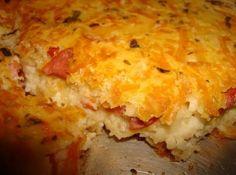 Sobrou arroz na geladeira? Faça essa massa de torta e recheie com o que mais gostar! #cozinhaconsciente