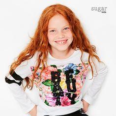 Ylfa from Sugar Kids for Desigual.