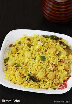 Poha recipe – Poha or pohe is a quick breakfast or snack food made of beaten rice or flattened rice from the Maharashtrian and Gujarati cuisines. Kanda batata poha is made using beaten rice, onions and potatoes. It is a kids' friendly recipe and can also be packed in the lunch box or eaten after …