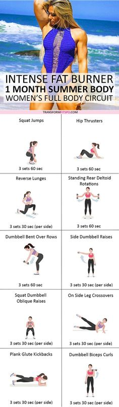 #womensworkout #workout #female fitness Repin and share if this workout gave you a rapid summer body! Click the pin for the full workout.