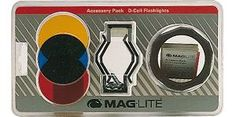 Maglite D Cell Accessory Pack This pack includes Red lens Amber lens Blue lens Lens Holder Vehicle