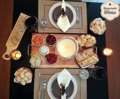 Degustando ideias: Como montar uma mesa de Fondue de queijo