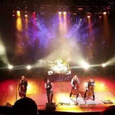 Apocalyptica performed on Monday at House of Blues Houston